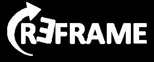 REFRAME | Logo White